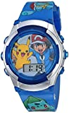 Pokemon Baby Quartz Watch with Plastic Strap, Blue, 21.7 (Model: POK3017)
