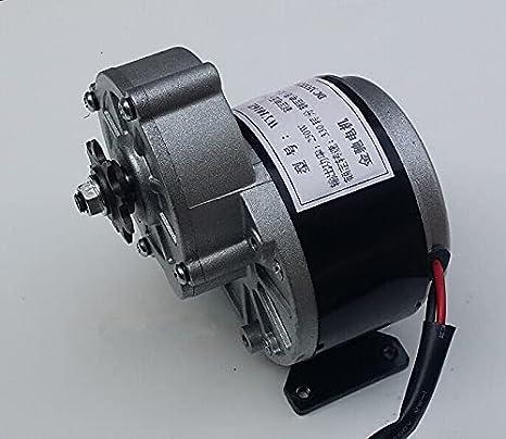 Pequeñas turbinas eólicas 250w 1 2V / 24V Motor de engranajes, Cepillo Motor Triciclo eléctrico, CORRIENTE CONTINUA Motor cepillado engranaje, motor de bicicleta eléctrica, MY1016Z2