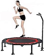 Vouwen indoor trampoline rebounder fitness oefening trampoline met handvat bar 50 inch opvouwbare rebounder cardio trainin...