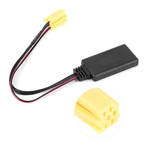 Terisass Connettore Radio Adattatore Audio Bluetooth Adatto per al-Fa Ro-meo 159 Fi-at Grande Punto