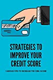 Strategies To Improve Your Credit Score: Various Tips To Increase The Cibil Score: Improve Your Cibil Score (English Edition)