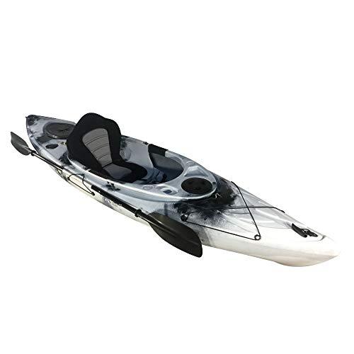 Cambridge Kayaks ES, Herring Negro con Blanco Kayak DE Paseo Y Pesca,...