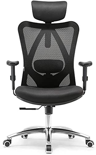 SIHOO Office Chair Ergonomic Office Chair, Breathable Mesh Design High Back Desk Chair with...