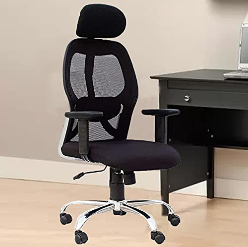 Casa Copenhagen, Ergonomic Extra Soft Desk Chair High Engineered Frame Durable and Adjustable Office Chair Modern Executive Chair with Armrests Lumbar Support - O Type