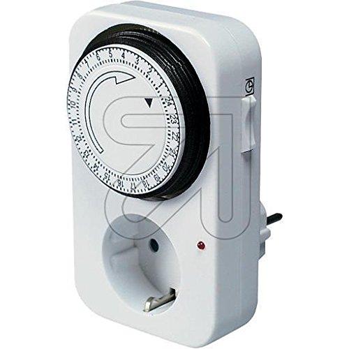 EGB Elektromechanische Zeitschaltuhr 24 h Tagesprogramm