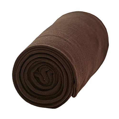 CHUNG Damen 80D blickdichte Strumpfhosen hoch elastisch 23 Farben Candy Fuß Strumpfhosen 90–160 lbs - Braun - Einheitsgröße