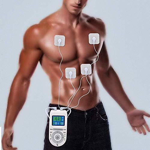mächtig der welt NMQQ Tens / EMS-Kombinationsgerät, Schmerzlinderung, Muskeltonus und Massage, Fitnessgerät