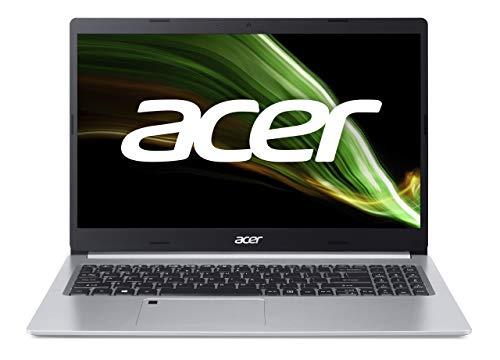 Acer Aspire 5 (A515-45-R6JZ) Laptop 15.6 Zoll Windows 10 Home - FHD IPS Bildschirm, AMD Ryzen 5 5500U Mobile-Prozessor mit Radeon Grafikeinheit , 16 GB DDR4 RAM, 512 GB M.2 PCIe SSD