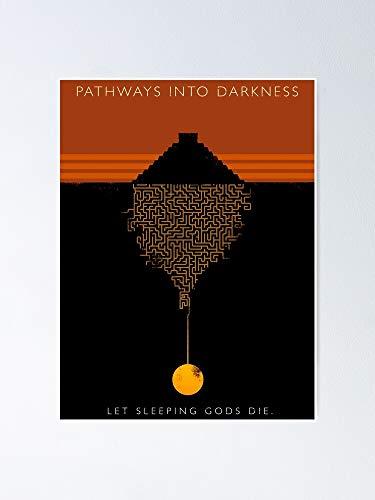 AZSTEEL Pathways Into Darkness Poster Poster 11.7 * 16.5