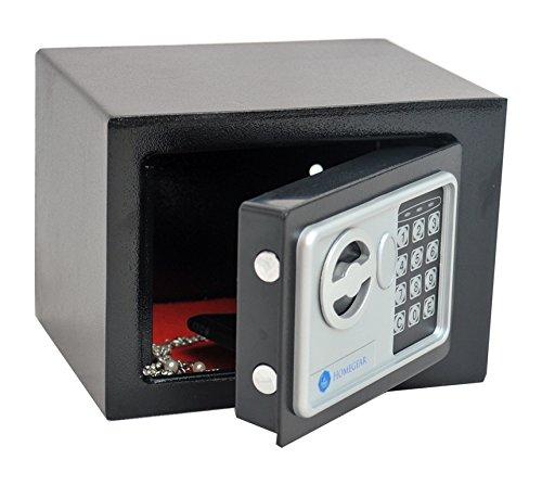 Homegear Small 0.23CF Electronic Safe Gun Money Passport Home Hotel Office Wall Cabinet Photo #5