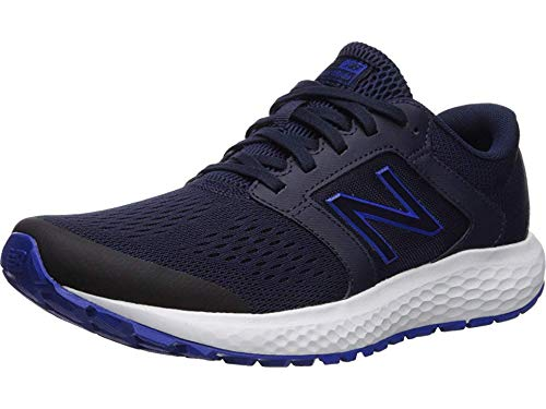 New Balance Men's 520v5 Cushioning Running Shoe, Navy/Blue, 9.5 D US