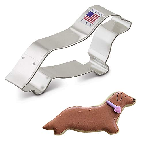 Ann Clark Cookie Cutters Dachshund Cookie Cutter, 4.25'