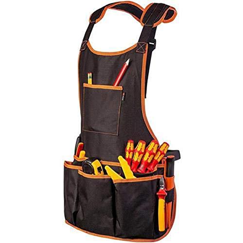 Sevenshop Werkzeug Weste Schürze Elektriker Schreiner Arbeitskleidung Utility Bag Tasche Verstellbare Schürzen