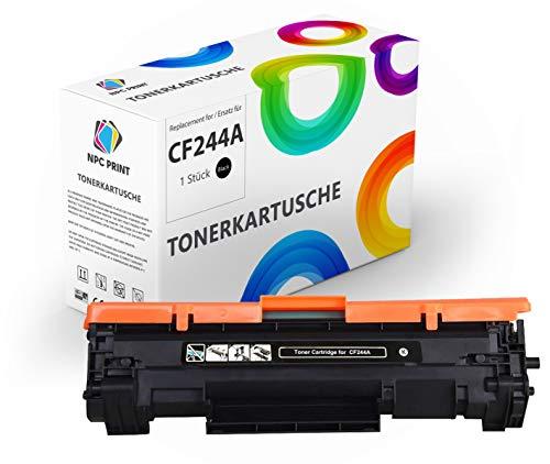 NPC PRINT TONER ersetzt HP CF244A 44A | 1.000 Seiten | kompatibel für HP LaserJet Pro M14, M15, M15A, M15w, M17, M17a, M17w, M28, M28a, M28w