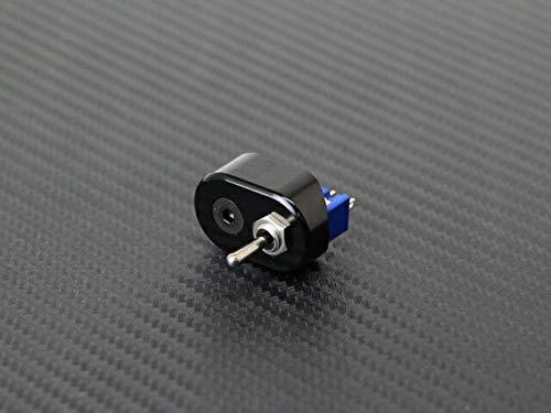 マイクロ ハンドルスイッチ シングル ブラック 22.2mm用 トグルスイッチ ON-OFF-ON ミニスイッチ モンキー エイプ グロム VTR250 FTR223 TW225 SR400 V-MAX グラストラッカー ボルティ エストレヤ カフェレーサー チョッパー フリスコ ボバー カスタム CP1340-T1B