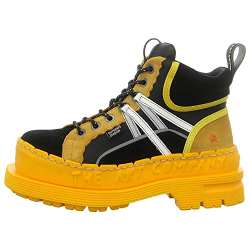 Art Company 0201S Multi Black-Yellow/ARTMOON Outsiders Black Woman 42 Ankle Boots Laces
