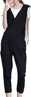 J.STORE [ジェイストア] レディース セットアップ 3点 セット 上下 tシャツ パーカー アンクル パンツ 美脚