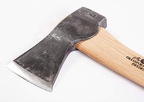 "Gransfors Bruks Small Forest Axe 19 Inch, 420 5 Length with handle: 19 inch, Comes original Gransfors ""Axe-book"" Weight: 2 lbs Sheath in vegetable tanned leather"