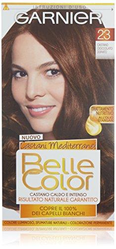 Haarfärbemittel colore permanente belle color 23 castano dorato naturale