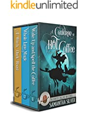 A Cauldron of Hot Coffee: Enchanted Enclave Mysteries Books 1-3