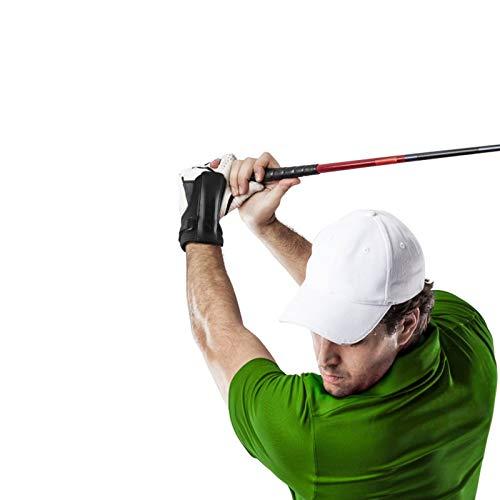 Yosoo Health Gear Ayuda para la muñeca de Entrenamiento de Golf, Entrenador de bisagra de muñeca oscilante de Golf Pulsera de muñeca Banda de oscilación Ayuda de Entrenamiento de alineación de Gestos