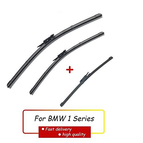 HZHAOWEI Set tergicristalli Anteriore e Posteriore tergicristallo, per BMW Serie 1 E81 E87 116i 116d 118i 118d 120i 120d 123d 130i 2004-2010 20'20' 12'