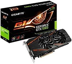 Gigabyte GeForce GTX 1060 G1 Gaming 3G - Tarjeta gráfica (NVIDIA GTX 1060/REV 2.0, PCI-E 3.0x16/3072MB GDDR5/192 bit, HDMI/DP.3/Dual-Link DVI-D)