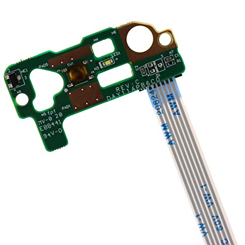 ON Off Power Button Board w/Cable Replacement for HP Pavilion 14-V 14-U 14-P 15-V 14T-V 14T-V000 14Z-V000  767254-001 - Deal4GO DAY11APB6C0