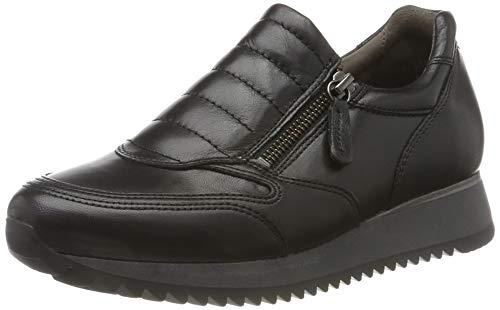 Gabor Damen Comfort Basic Sneaker, Schwarz (Schwarz 57), 41 EU
