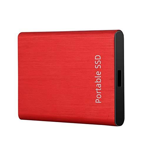 Disco duro externo SSD de 500GB/1TB/2TB, unidad de estado sólido externa USB 3.0 compatible con USB 2.0 | Alta velocidad, Plug and Play para Windows 10 8 7, para Mac OS X 10.9