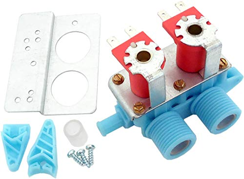 ClimaTek Upgraded Washer Washing Machine Water Inlet Valve fits Maytag Admiral WP22002360 AP6006289 22002360 PS11739359