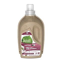 Seventh Generation Concentrated Liquid Laundry Detergent, Geranium Blossoms and Vanilla, 66 loads, 5
