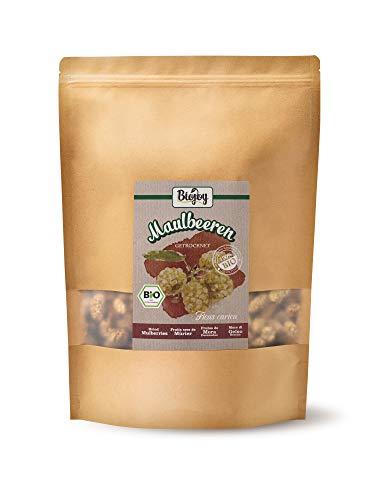Biojoy BIO-Maulbeeren getrocknet - weiß, ungezuckert und ungeschwefelt (1 kg)