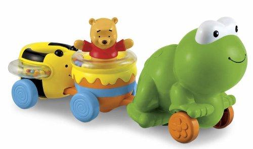Mattel- T1630 - Winnie The Pooh - Eveil - Train de l'amitié