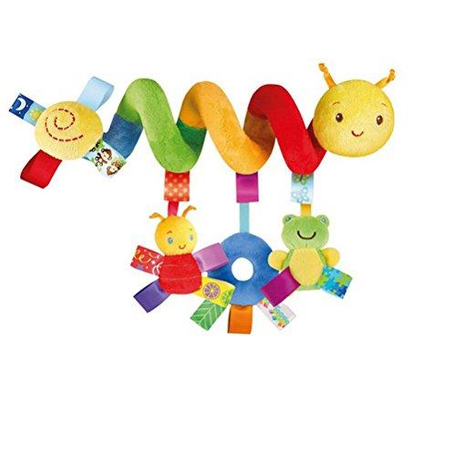 Leorx Spirale Spielzeug, Kinderwagen, Spielzeug, Bett hängen Spielzeug, Baby-Autositz-Spielzeug