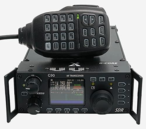 Xiegu G90 HF Radio 20W SSB/CW/AM/FM 0.5-30MHz, Plus 60 Meters with Free BridgeCom University Course and Built in Antenna Tuner