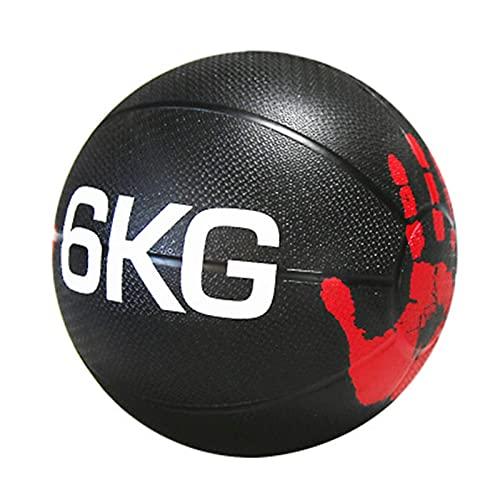 PLUY Fitness balón Medicinal Fitness, Ejercicio aeróbico, Pelota de Entrenamiento de Equilibrio, 1KG/2KG/3KG/4KG/5KG/6KG/7KG/8KG/9KG/10KG (Tamaño: 9kg/19.8lb)