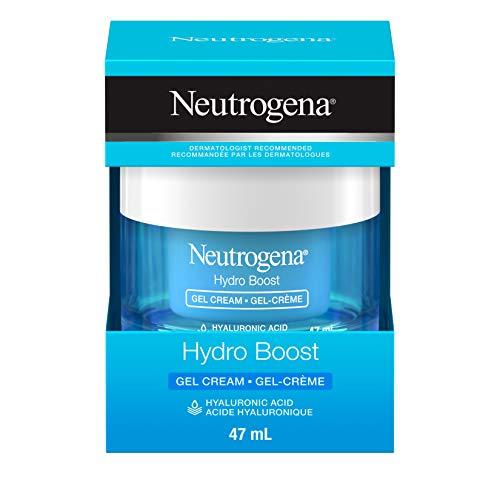 Neutrogena hydroboost facial gel-cream with hyaluronic acid, hydrating gel face moisturizer, 47ml