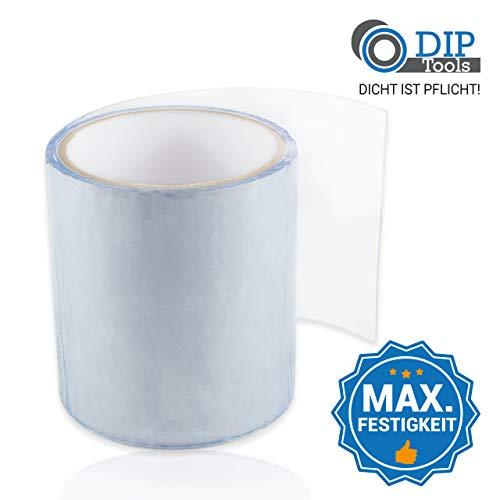 DIP-Tools Innovatives wasserdichtes Reparaturband für Pool, Haus, Dachrinne etc. (1, transparent)