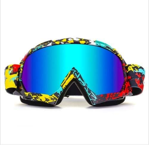 OTG Ski Snow Goggles, 100% UV Protection Anti Fog Snowboard Goggles for Men Women Youth Motorcycle...