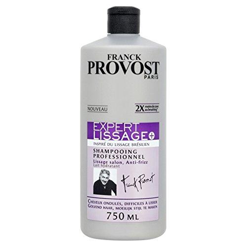 FRANCK PROVOST EXPERT LISSAGE Shampooing Professionnel Lissage Salon et Anti-frizz 750.0 ml