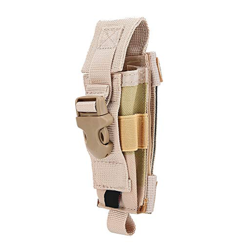 Multifunctionele Outdoor Draagbare Nylon Militaire Mes Opslag Buidelzak, Zaklamp Pouch Holster