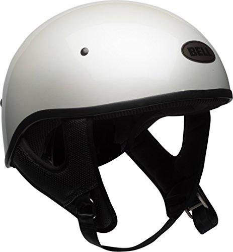 BELL Unisex Adult Pit Boss Sport White Half Helmet 7080711