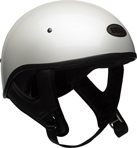 Bell Pit Boss Sport Open-Face Motorcycle Helmet (Solid White, Medium)