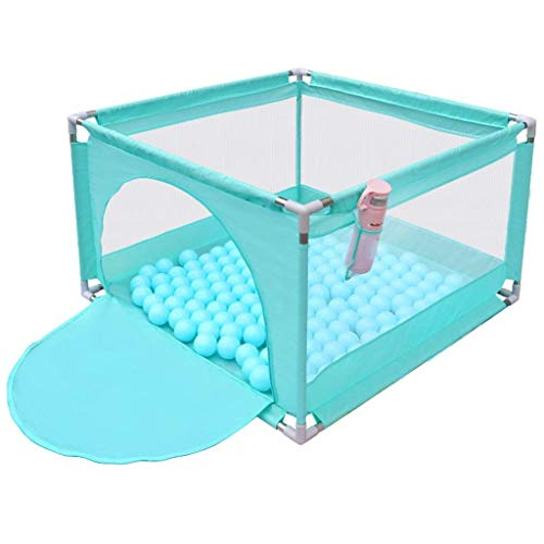AWJ playpens for toddlers,Adorable Safety Play Center Yard Baby Playpen Child Fence Baby Game Pit (No Balls)