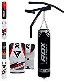 RDX Sac de Frappe Barre Traction Rempli Support Mural Lourd MMA Punching Ball Muay...