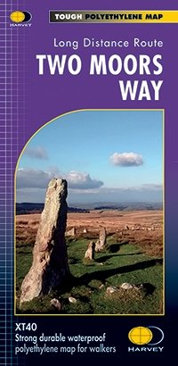 Two Moors Way XT40: Route Map