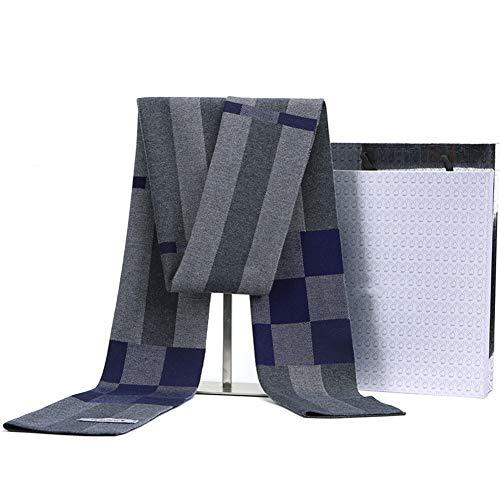 ChAXIA-sjaal winter mannelijk mode Koreaanse versie vrije tijd eenvoudig raster cadeau, 6 kleuren A