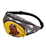 TENDYCOCO Kids Fanny Pack Cute Cartoon Dinosaur Waist Bag Chest Pouch Bumbag for Toddlers Teens-Yellow