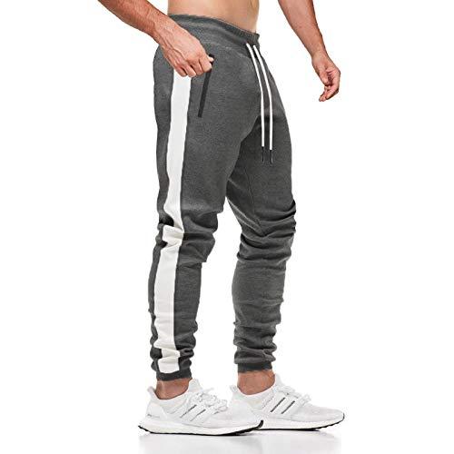 Pantalones de chándal para hombre JustSun con bolsillos con...